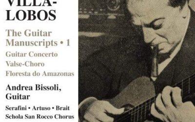 VILLA-LOBOS: THE GUITAR MANUSCRIPTS 1