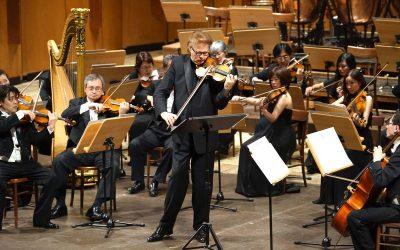Kansai Philharmonic Orchestra & Augustin Dumay