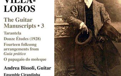 VILLA-LOBOS: THE GUITAR MANUSCRIPTS 3