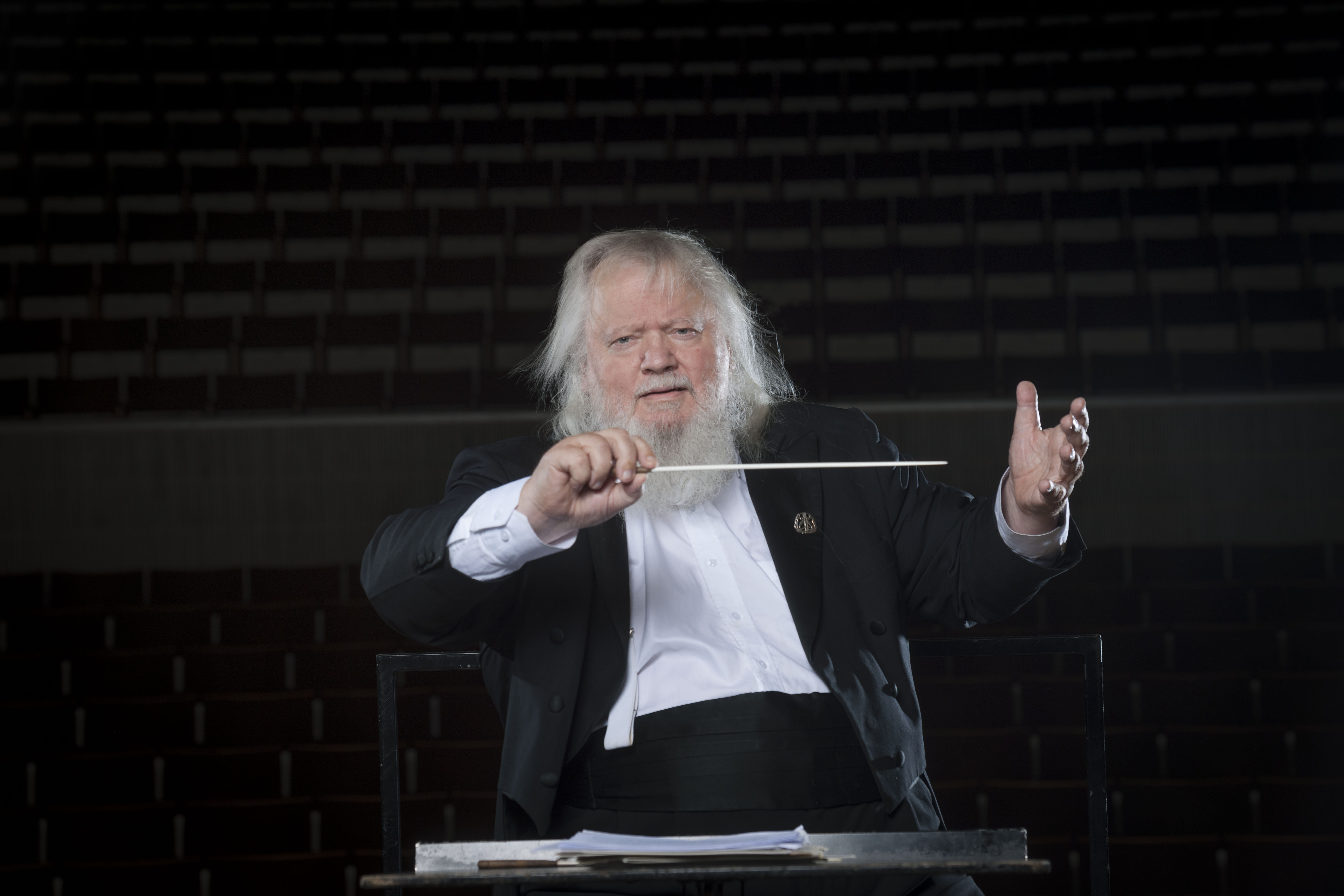 APM accoglie Leif Segerstam per nuove collaborazioni nel 2020